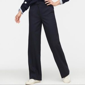 J Crew Collection Edie Trouser, Navy, Size…